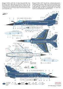Mirage F.1 EQ/ED 1/72  - 4