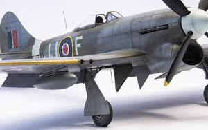 British Tempest Pilot sitting, for Special Hobby kit  - 4