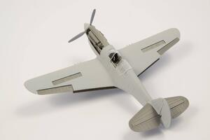 1/72 P-40 - Control Surfaces for Special Hobby kits  - 5