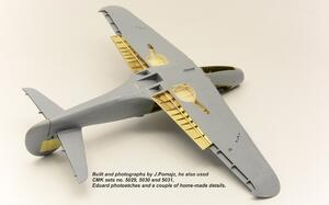 P-39 Airacobra undercarriage set for Sp.Hobby  - 5