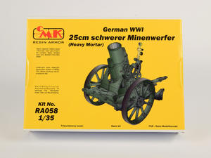 1/35 German WWI 25cm schwerer Minenwerfer / Heavy Mortar– All Resin kit   - 5