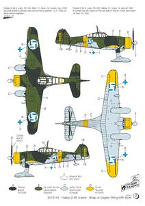 """Fokker D.XXI 4.sarja """"Wing with Slots""""  - 5"""