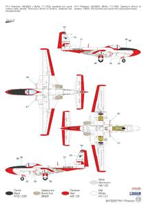 """FH-1 Phantom """"Demonstration Teams and Trainers"""" 1/72  - 5"""