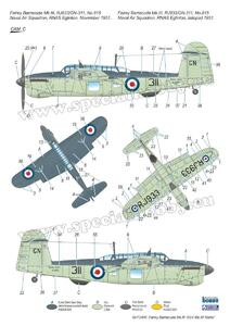 Fairey Barracuda Mk.III 'ASV Mk.XI Radar' 1/72  - 5