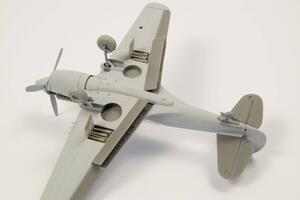 1/72 P-40 - Control Surfaces for Special Hobby kits  - 6