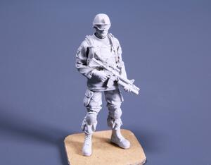1/48 Commanding Officer (standing), US Army Infantry Squad 2nd Division  - 6