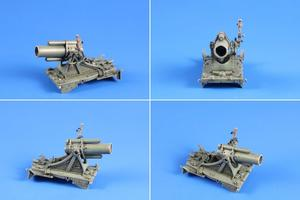 1/35 German WWI 25cm schwerer Minenwerfer / Heavy Mortar– All Resin kit   - 6