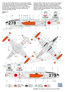 T-33  'Japanese and South American T-Birds'  - 6