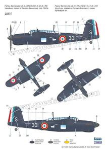 Fairey Barracuda Mk.III 'ASV Mk.XI Radar' 1/72  - 6